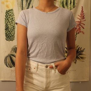 Brandy Melville Ribbed Shirt